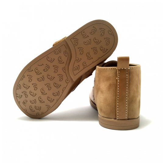 Buty skórzane dla dzieci WOOD