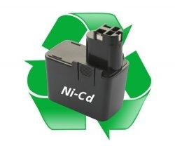 regeneracja akumulatora Ni-Cd - 9,6V do elektronarzędzi