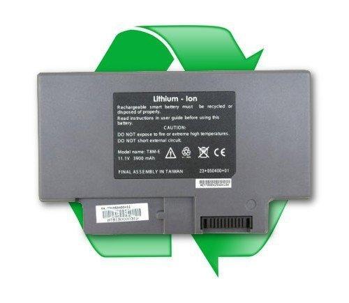 regeneracja baterii Itronix T8M-E do laptoów Itronix IX300, IX325, IX350, TR3000 - 11,1V 3900 mAh