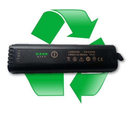 regeneracja akumulatora EXFO LO4D318A, XW-EX009 14,4V do EXFO FTB-1 OTDR