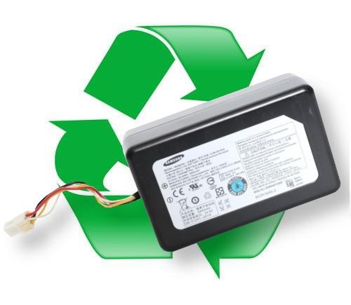 regeneracja akumulatora SAMSUNG DJ96-00193A, DJ96-00193D do odkurzacza Samsung Powerbot VR9000, VR9020, VR9040