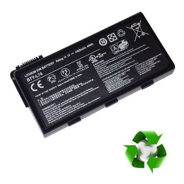 MSI A5000, CR600, CR620, CR700, CX700 - 11,1V 4400 mAh