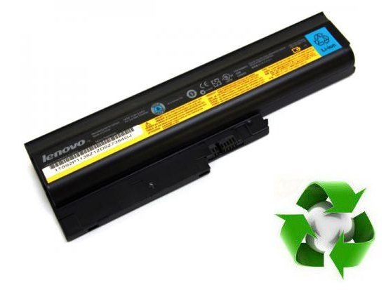 IBM Thinkpad R60, T60, T61p, Lenovo Thinkpad R61, T61, R500, T500 - 10,8V 6800 mAh