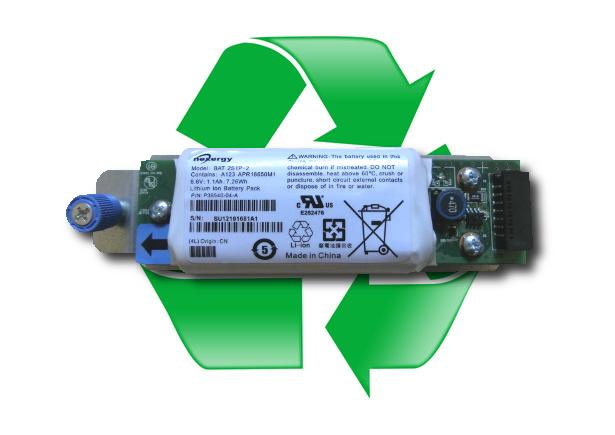 regeneracja baterii  69Y2844, 69Y2905 do IBM FAST200 DS3500 DS3512 DS3524 MD3200