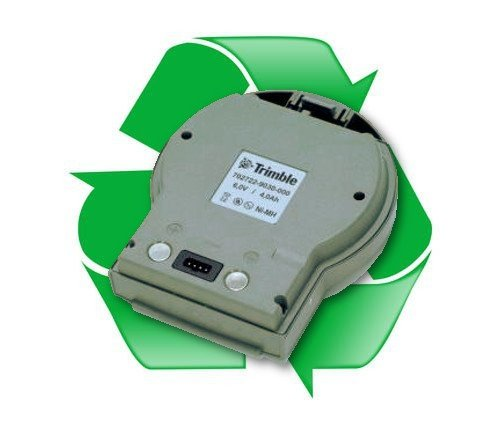 regeneracja akumulatora Trimble 702722, 702722-9030-000  6V 4000 mAh Ni-Mh do Trimble 3600, 3603, 3605DR Zeiss Elta C30
