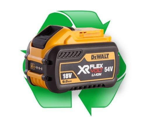 regeneracja akumulatora li-ion DeWalt  XR Flex Volt DCB547 18V/54V