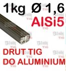 DRUT TIG AlSi5 DO ALUMINIUM  Ø 1,6 mm
