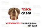 CP 200 - DYSZA- 1844 Ø 1,6mm 80A-120A