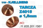 TARCZA- Z4015 - ø 1,5mm - .11.835.201.1561