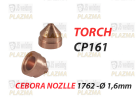 CP 161 - DYSZA- 1762  Ø 1,6 mm - 120 A