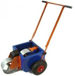 wózek do malowania linii boiska z wałkiem