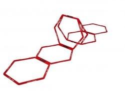 drabinka koordynacyjna heksagonalna  P2I