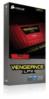 Corsair DDR4 4GB 2400 CL14 - Vengeance Red