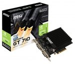 MSI GeForce GT 710 2GD3H H2D, Mini-HDMI, DVI-I, DVI-D