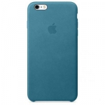 Apple iPhone 6S Plus Leather Case Marine Blue