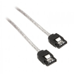 InLine SATA III (6Gb/s) kabel okrągły przeźroczysty - 0,3m