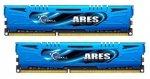 G.Skill DIMM 8 GB DDR3-2400 Kit F3-2400C11D-8GAB, ARES AB