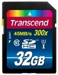 Transcend SD Card  SDHC 32GB Class 10 / UHS-I / 300x