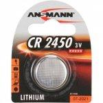Ansmann Lithium Knopfzelle CR-2450