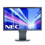 NEC MultiSync E223W-BK DisplayPort, DVI-D (HDCP), Pivot