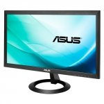 ASUS VX207DE, czarny, VGA, Low Blue Light, Flicker Free