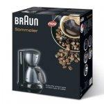 Braun Sommelier Kf 610 Czarny/szary