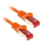 InLine 10m Cat.6 kabel sieciowy 1000 Mbit RJ45 - pomarańczowy