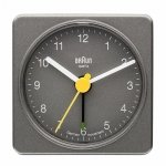 Braun BNC 002 Travel Alarm Clock grey