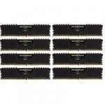 Corsair  128 GB DDR4-2666 Octo-Kit, czarny, CMK128GX4M8A2666C16, Vengeance LPX