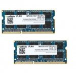 Mushkin SO-DIMM 16 GB DDR3-1066 Kit 2Rx8,MAR3S1067T8G28X2