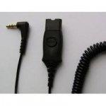 Plantronics Adapterkabel QD-wtyczka na 2,5 mm, czarny
