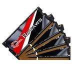G.Skill SO-DIMM 32GB DDR3L-1866 Quad-Kit,  F3-1866C11Q-32GRSL, Ripjaws