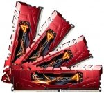 G.Skill DIMM 32 GB DDR4-2400 Kit,  rot, F4-2400C15Q-32GRR, Ripjaws 4 Red