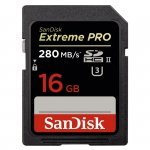 SanDisk Extreme PRO SDHC    16GB 280MB/s UHS-II  SDSDXPB-016G-G46