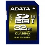 ADATA Secure Digital SDHC Card UHS-I 32 GB Class 10, Premium Pro