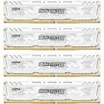 Crucial Ballistix Sport LT 16GB Kit 4GBx4 DDR4 2400 288pin biały