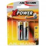1x2 Ansmann Alkaline Mignon AA X-Power