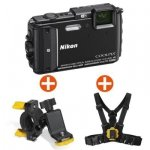 Nikon COOLPIX AW130 black Outdoor Kit