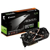 GIGABYTE AORUS GeForce GTX 1080 xtreme edition, HDMI, 3x DisplayPort, DVI-D