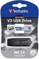 Verbatim Store n Go V3 USB 3.0 / grey      128GB