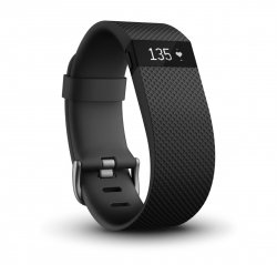 FitBit CHARGE HR Gr.: L czarny Bluetooth 4.0