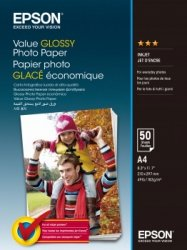 Epson Value Glossy Photo Paper A 4, 50 Sheet, 183 g S 400036