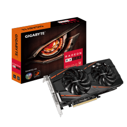 Gigabyte RX 580 GAMING 4096MB,PCI-E,3xDVI,HDMI,DP