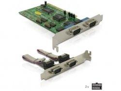 DeLOCK Multi I/O-Karte PCI 4S