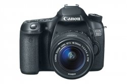 Canon EOS 70D z obiektywem EF-S 18-55mm 3.5-5.6 IS STM