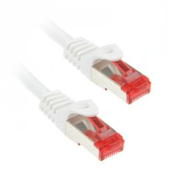 InLine 1m Cat.6 kabel sieciowy 1000 Mbit RJ45 - biały