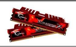 G.Skill DIMM 8 GB DDR3-2133 Kit F3-2133C9D-8GXL, RipjawsX