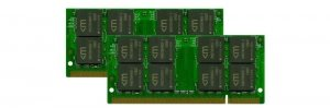 Mushkin SO-DIMM 4 GB DDR2-667 Kit 976559A, Apple-Serie