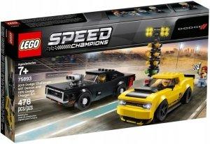 LEGO Speed Champions 75893  2018 Dodge Challenger SRT+1970 Dodge