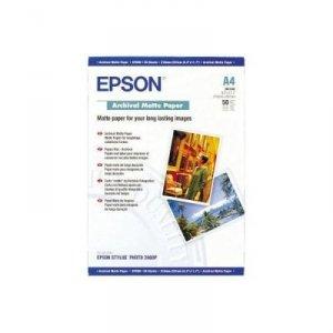 Epson Archival Matte Paper A 4, 50 kartek, 192 g S 041342